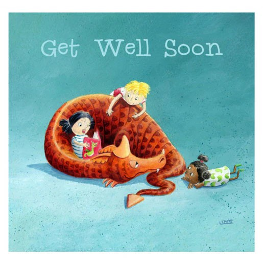 words for get well card