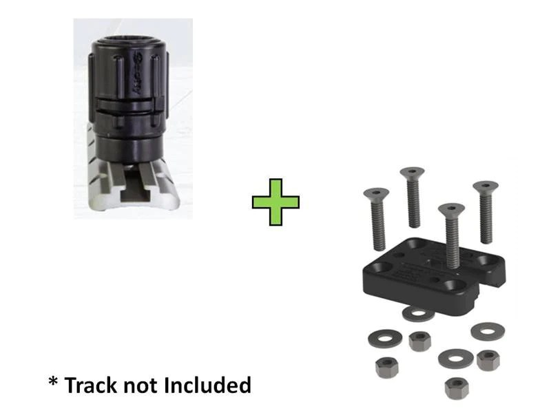 Scotty Gear Head Track Adapter No 438 Yakattack