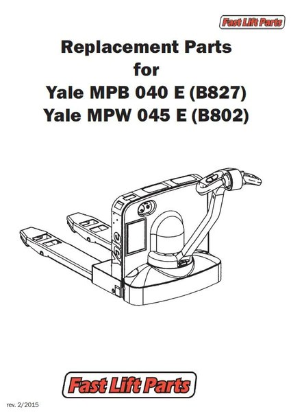 yale mpb 040 e b827 electrical wiring harness