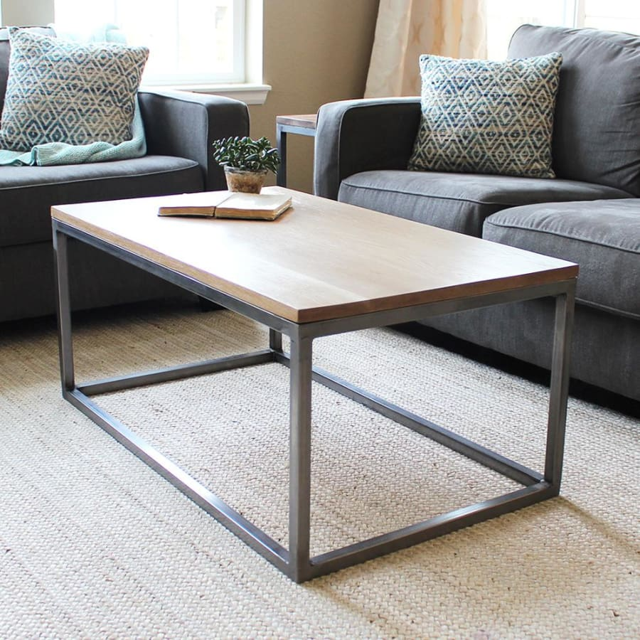 Metal Table Coffee Tables Jw Atlas Wood Co