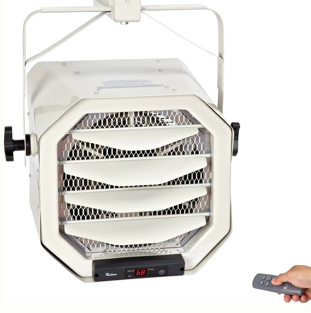 Garage Heater With Wall Thermostat Dr Infrared Heater Dr 910f 10000 Watt 240 Volt Heavy Duty