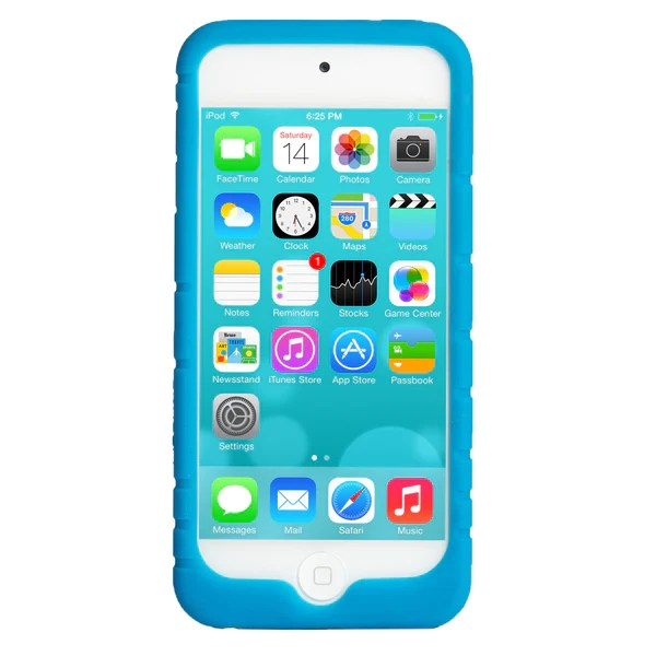 Moving Wallpapers For Iphone 6s Flexible Ipod Touch 5 Blue Athletic Silicone Case