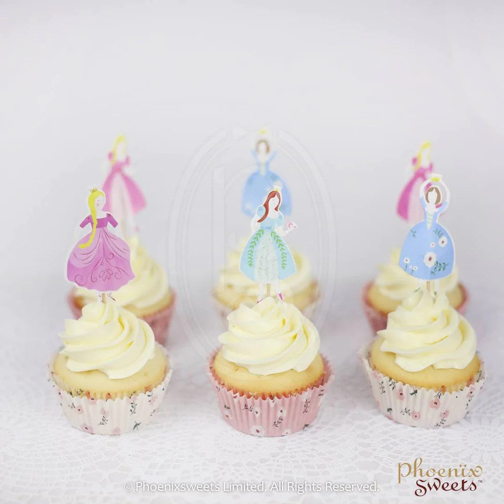 Décoration De Cupcake Cupcake Decoration Set Princess Not Including Cupcake