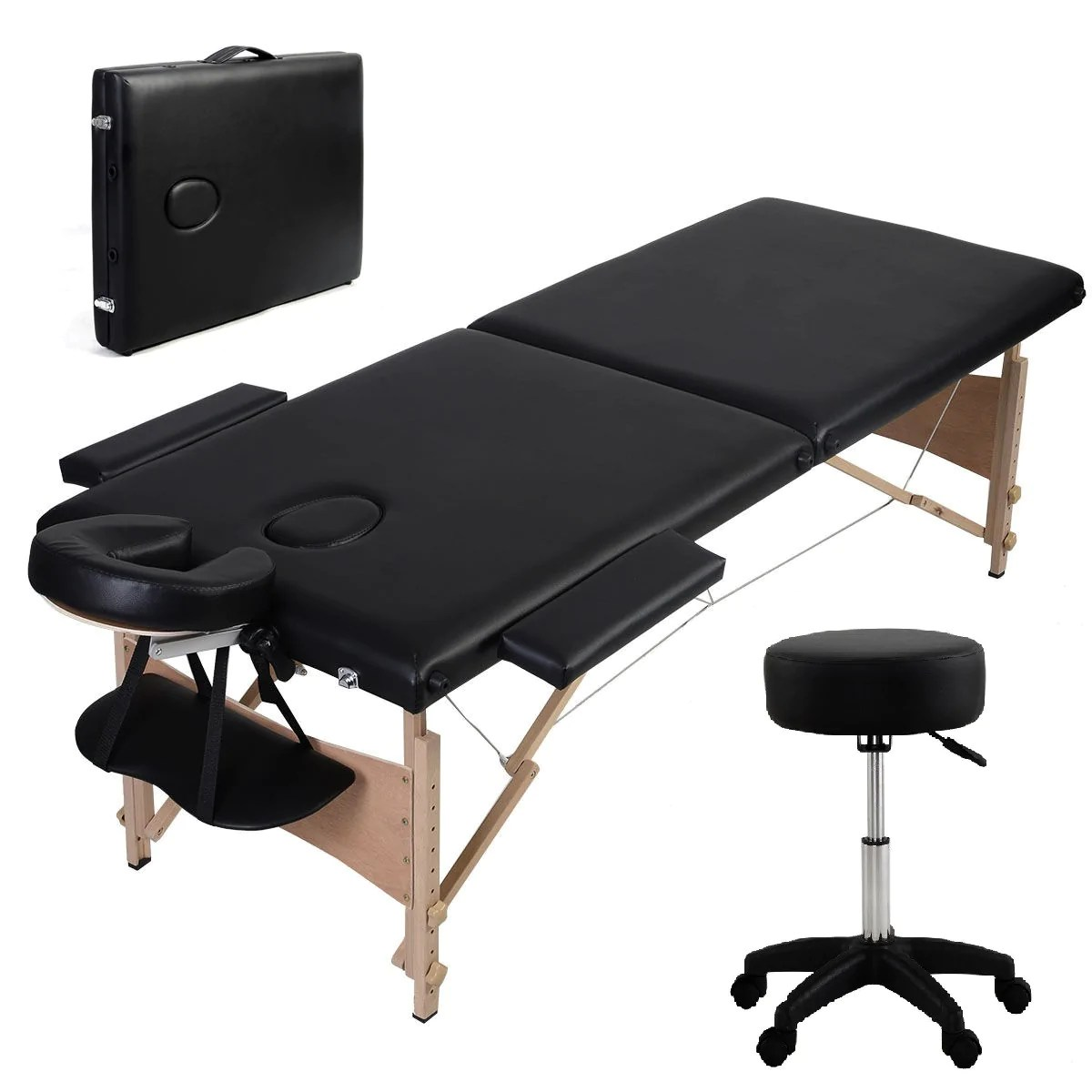 Portable Stool The Starter Portable Massage Table With Rolling Stool