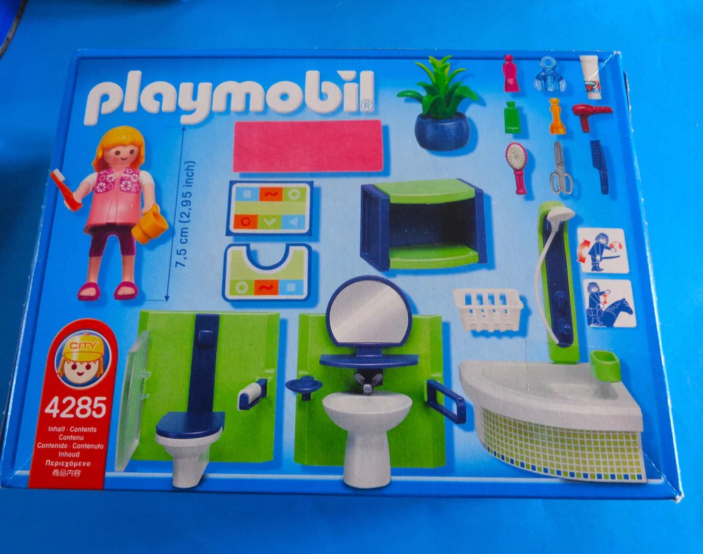 Playmobil Moderne Luxusvilla Badezimmer | Playmobil Luxusvilla Küche ...