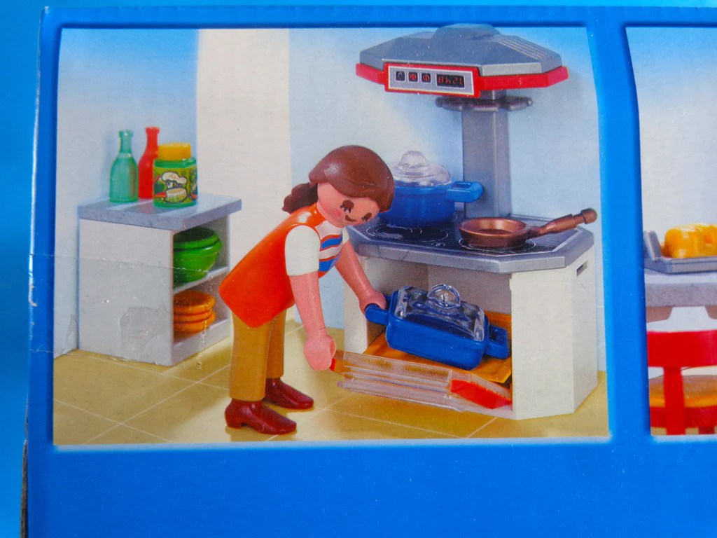 Playmobil Küche 4283 Playmobil Cocina Para Casa Grande 4279 Raro Kitchen For