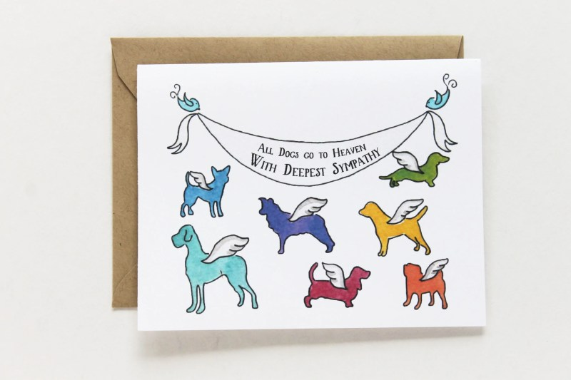 Large Of Pet Sympathy Cards