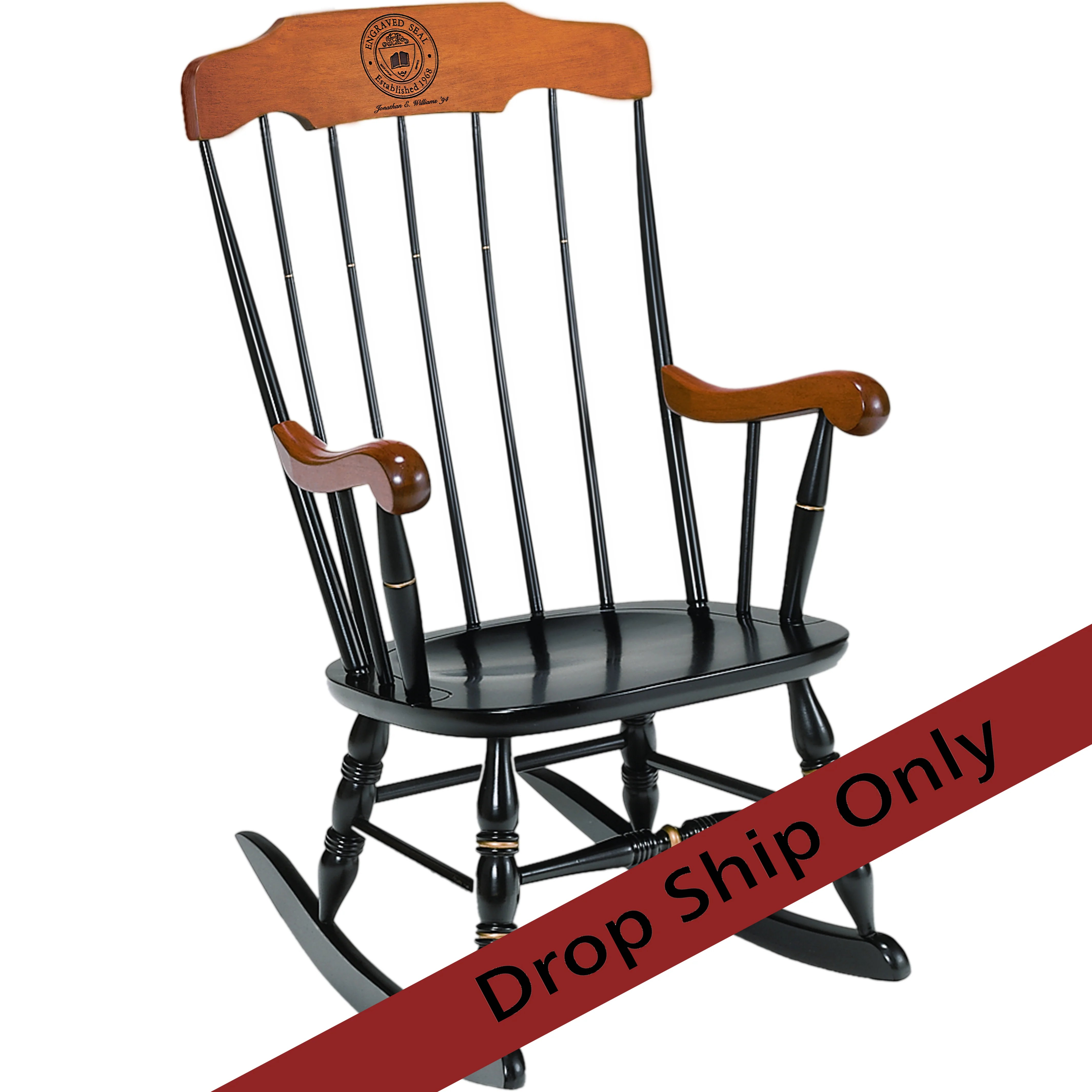 Best Place To Buy Rocking Chairs Engraved Boston Rocker Chair