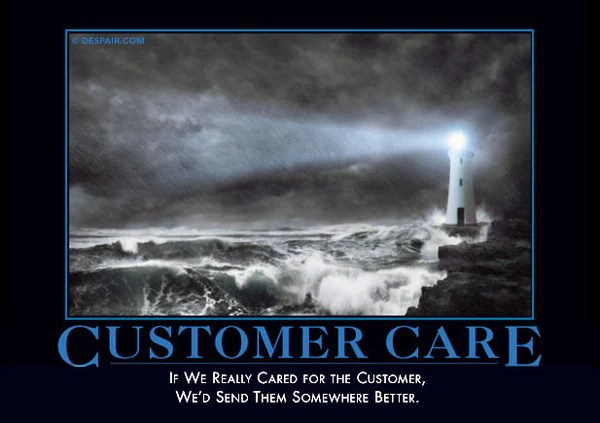Sarcastic Wallpaper Quotes Customer Care Despair Inc