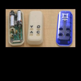 Mooshimeter 1.1 set: DMM-BLE-2x01A + Case + Leads