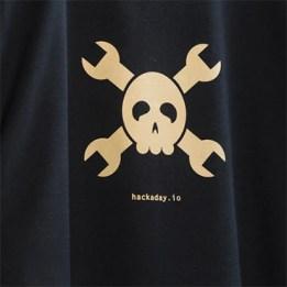 Hackaday.io Gold Logo Tee (Women's Premium)