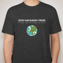2015 Hackaday Prize T-shirt