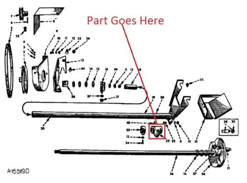 farmall cub brake diagram
