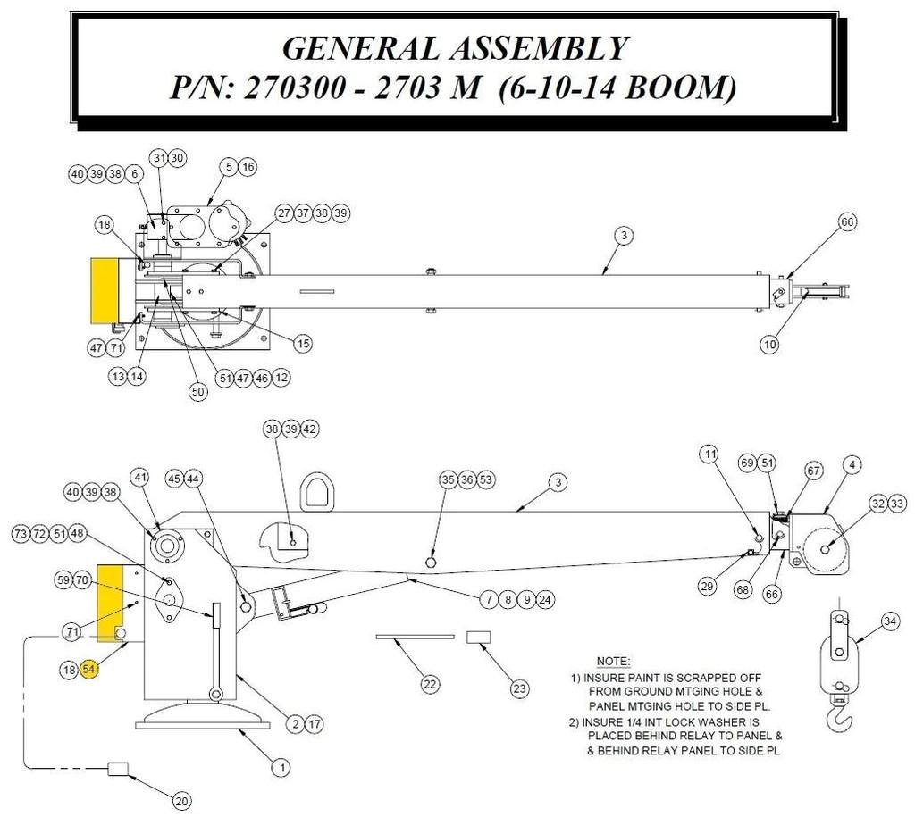 auto crane 3203prx wiring diagram