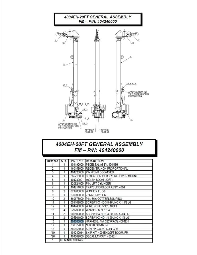 auto crane motor wiring diagram