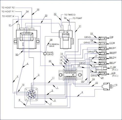 auto crane 5005eh wiring diagram