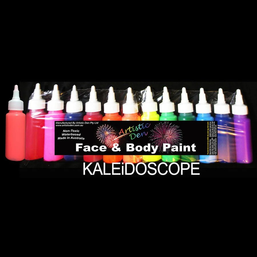 Face Paint Supplies Adelaide Face Paint Supplies Uv Glow Face Paint Free Postage Artistic Den