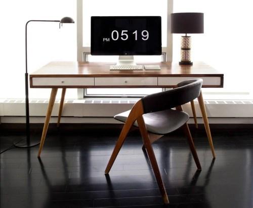 Medium Of Mid Century Modern Desk