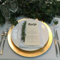 Table Setting Charger & Plus Wedding Guests Usually Spend ...