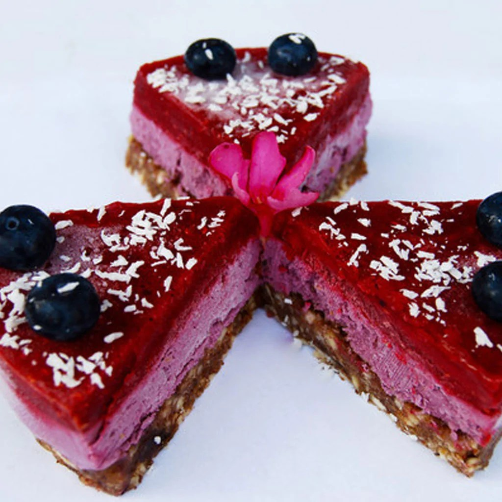 Chia Samen Kuchen Roher Himbeerkuchen Your Superfoods Your Superfoods