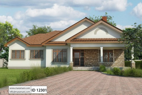 Medium Of Two Bedroom House Plans