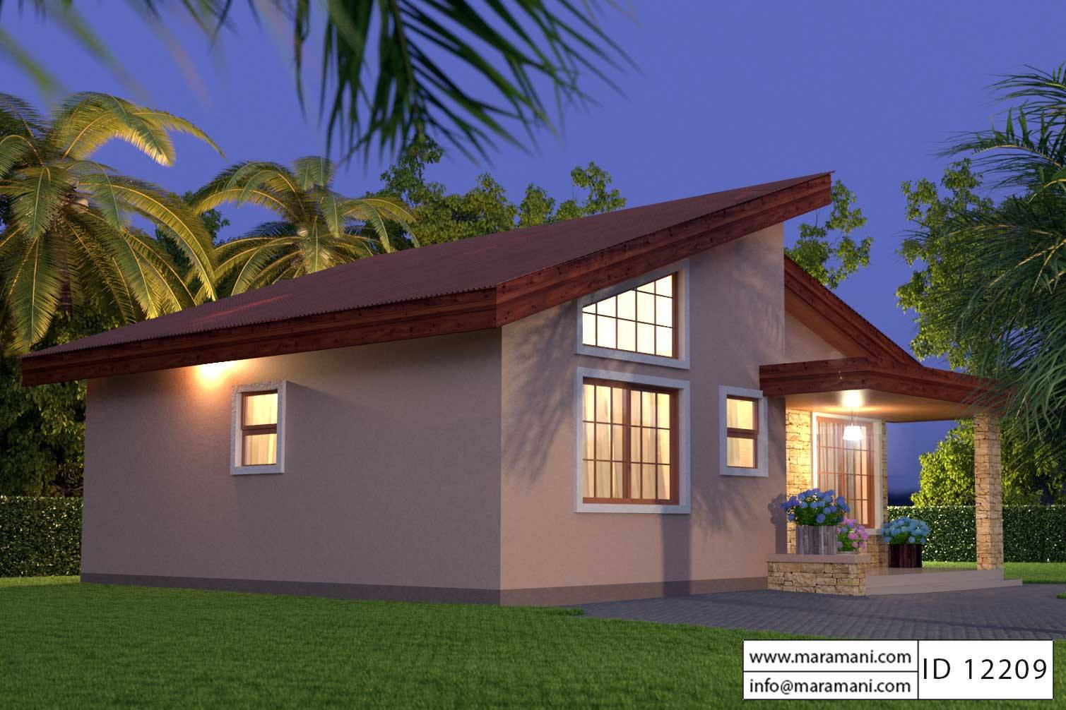 Bank Of Zambia Home 2 Bedroom House Plan Id 12209