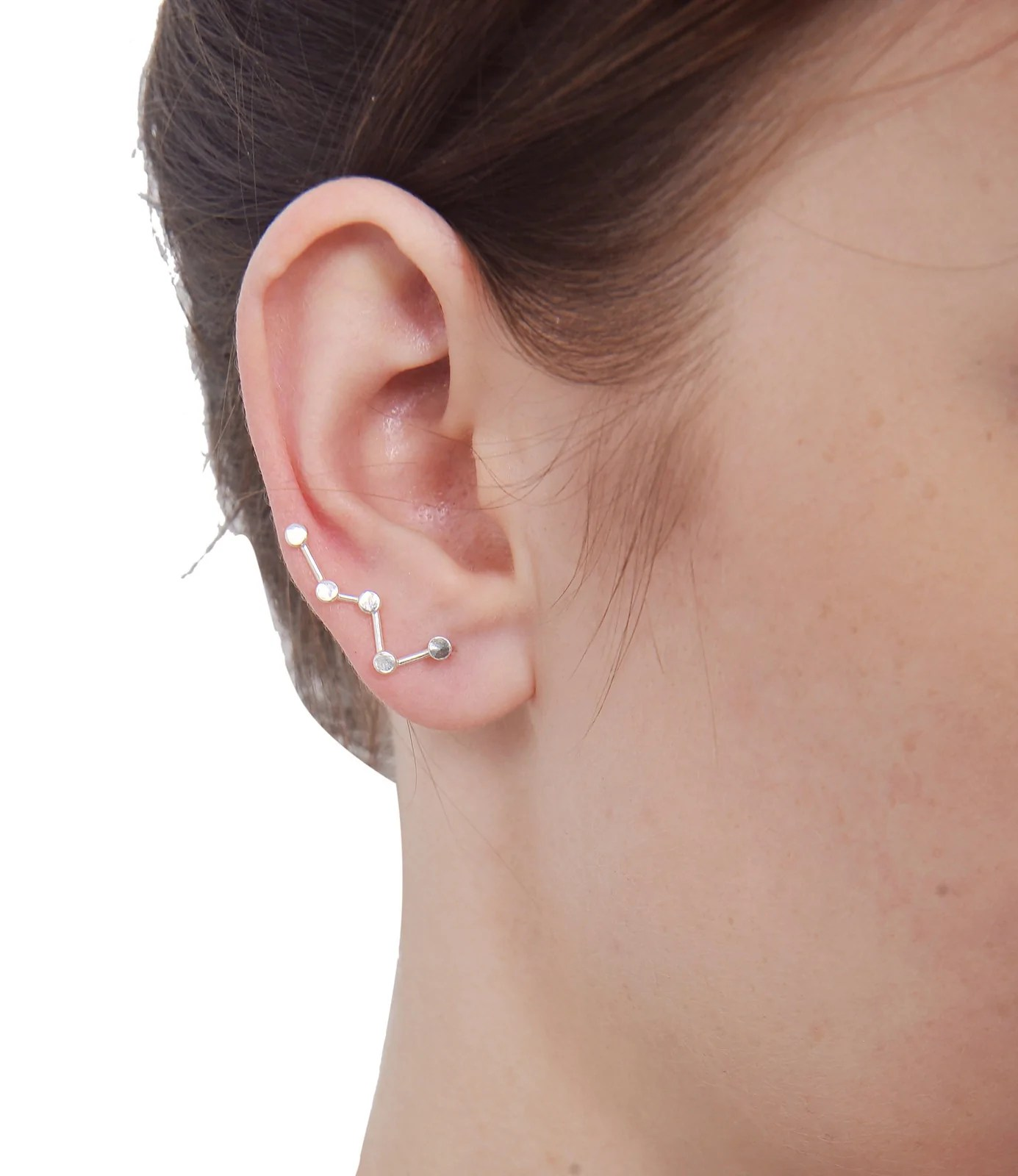 Intriguing Silver Cassiopeia Star Sweep Up Ear Climber Earrings Silver Cassiopeia Star Sweep Up Ear Climber Earrings Ear Climber Earrings Philippines Ear Climber Earrings Ebay wedding rings Ear Climber Earrings