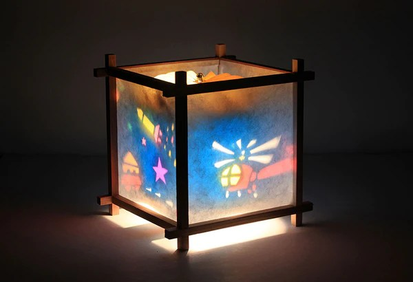Rotating Kids Lamps For Nursery Bedroom Or Playroom