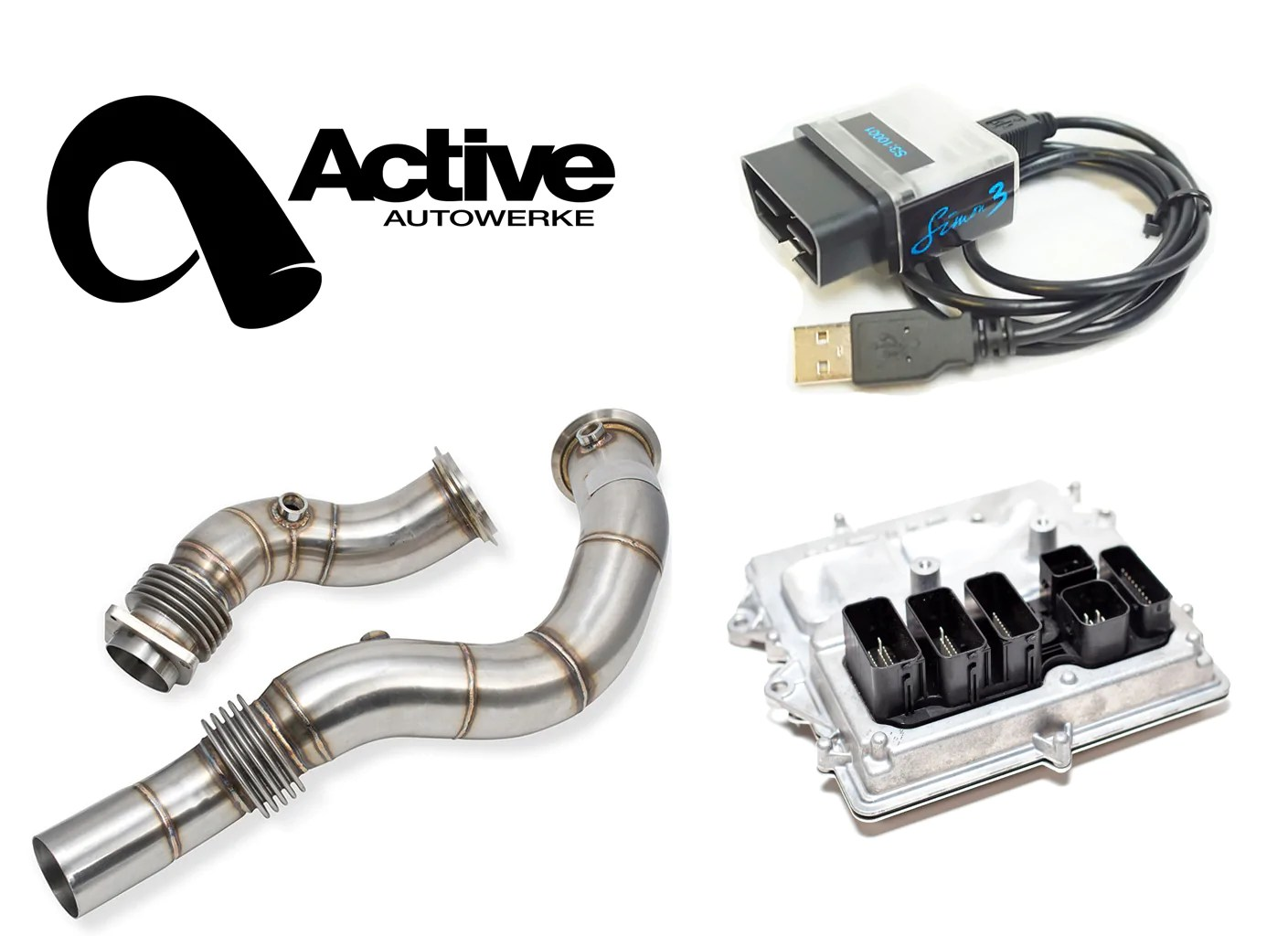 M4 Performance Exhaust Active Autowerke F8x M3 M4 Performance Package