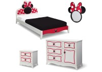 Minnie Mouse Wooden Twin Bedroom Collection | Delta Children