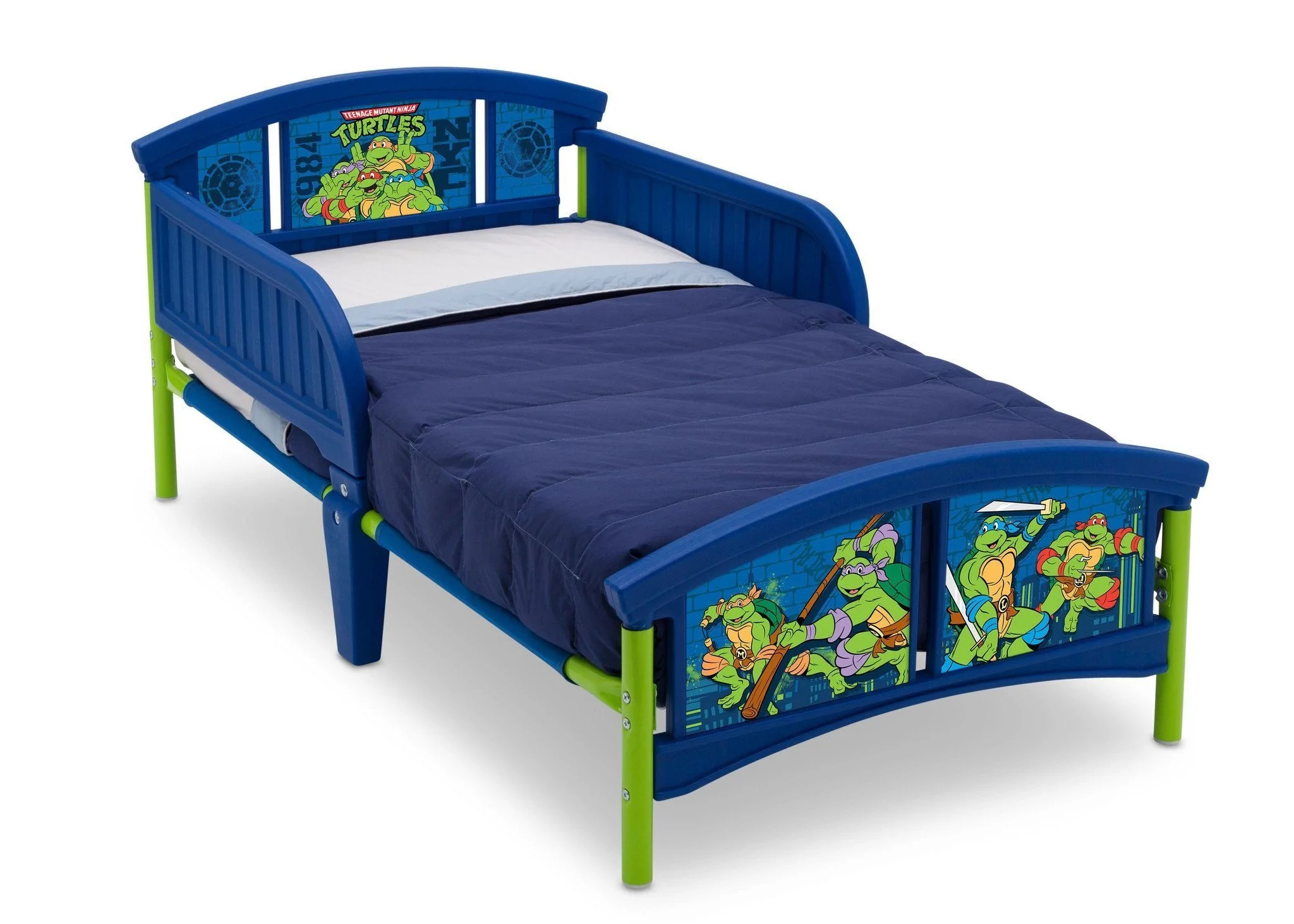 Baby Relax Toddler Bed Teenage Mutant Ninja Turtles Plastic Toddler Bed Delta