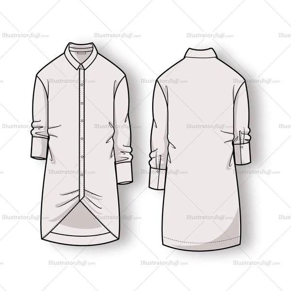 illustrator shirt template