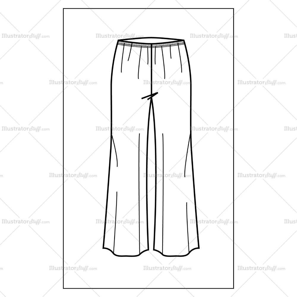 Trousers For Men Women's Palazzo Pants – Templates For Fashion