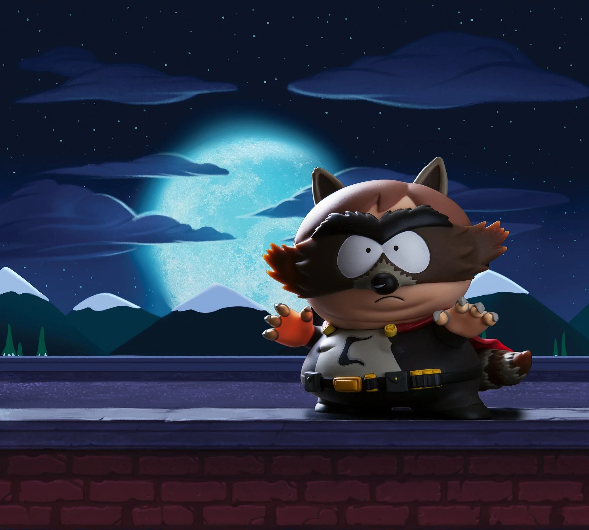 Wallpaper Superhero Marvel 3d South Park The Fractured But Whole The Coon 7 Quot Medium