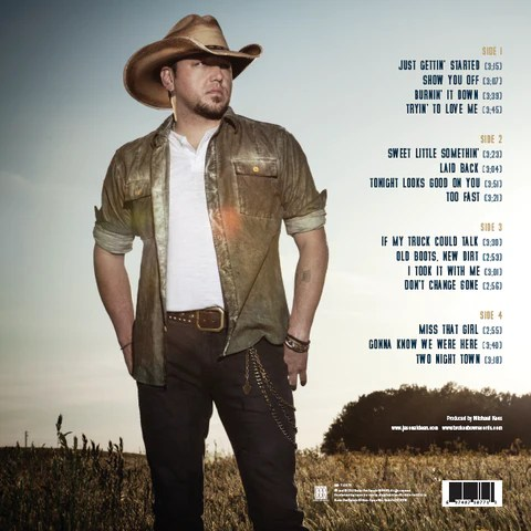 Old Boots New Dirt Vinyl Jason Aldean Official Store