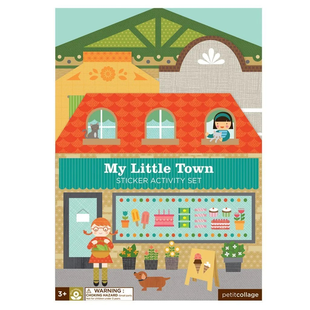 Petit Store Petit Collage Sticker Activity Town
