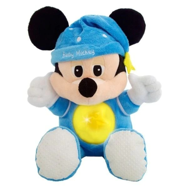 Disney Baby Mickey Mouse Night Glow Browns Toy Emporium