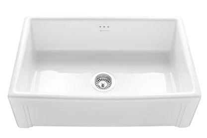 Caple Cpbs760 Belfast Ceramic Sit On Sink Atappliances