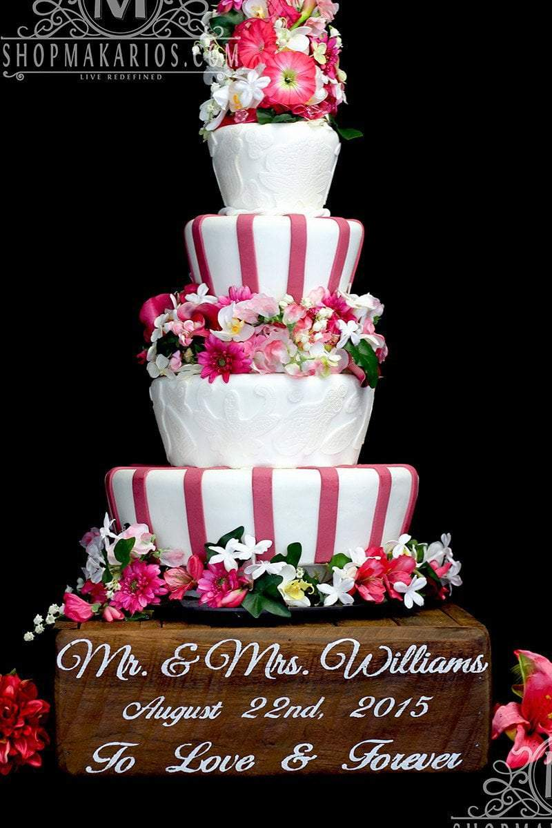wedding cake stands Single Tube Hollow Clear Acrylic Wedding Cake Stand