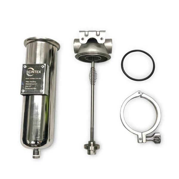 isuzu fuel filter pre housing