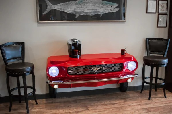 Sofas Just You 1965 Mustang Console Table – Carfurniture.com