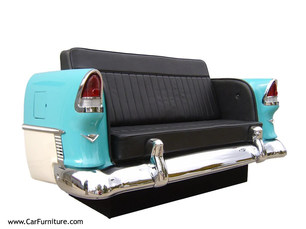 Car Möbel '55 Chevy Rear Couch – Carfurniture.com