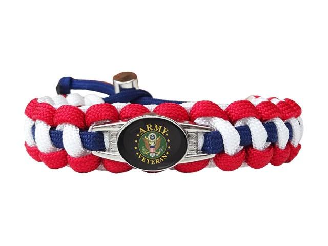 Army Veteran Paracord Bracelet Handmade By Us Veterans