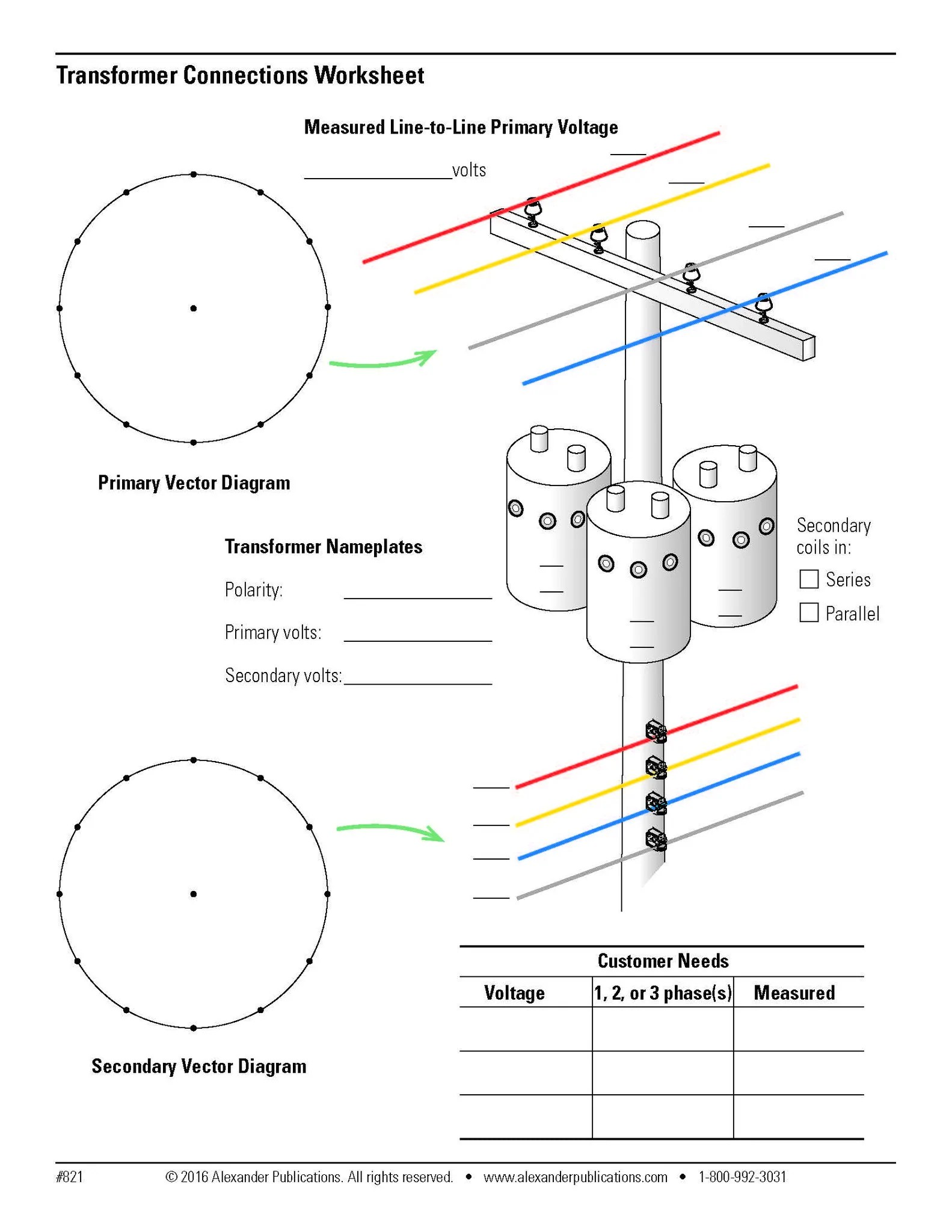 transformer connection diagrams