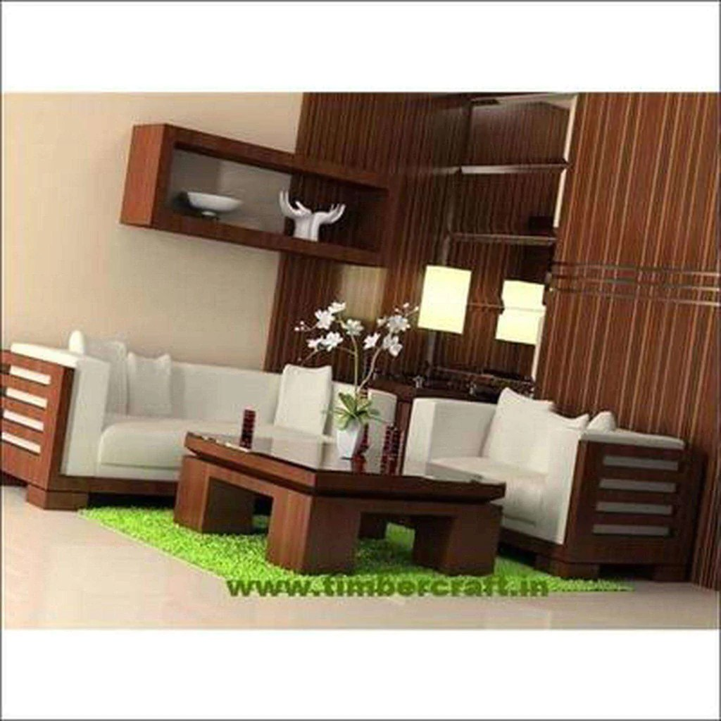 Https Timbercraft In Products Wooden Sofa Set In Solid Teak Wood