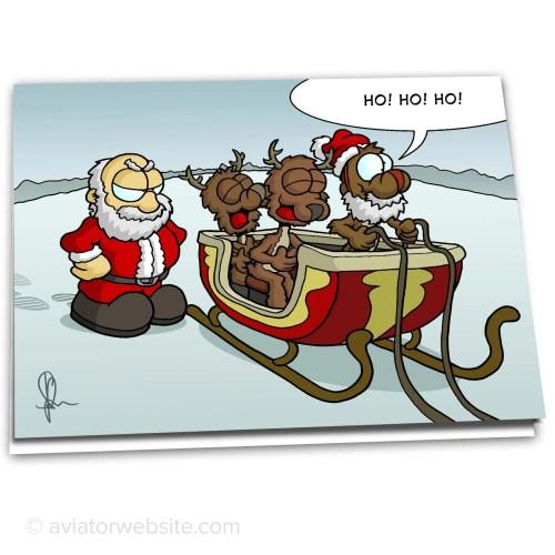 Medium Of Funny Christmas Cards