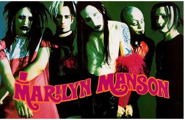 Foreign Girls Wallpaper Marilyn Manson Smells Like Children Poster 11x17 Bananaroad