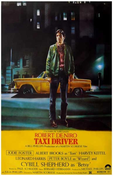 Quotes For College Wallpaper Taxi Driver Movie Poster 11x17 Bananaroad