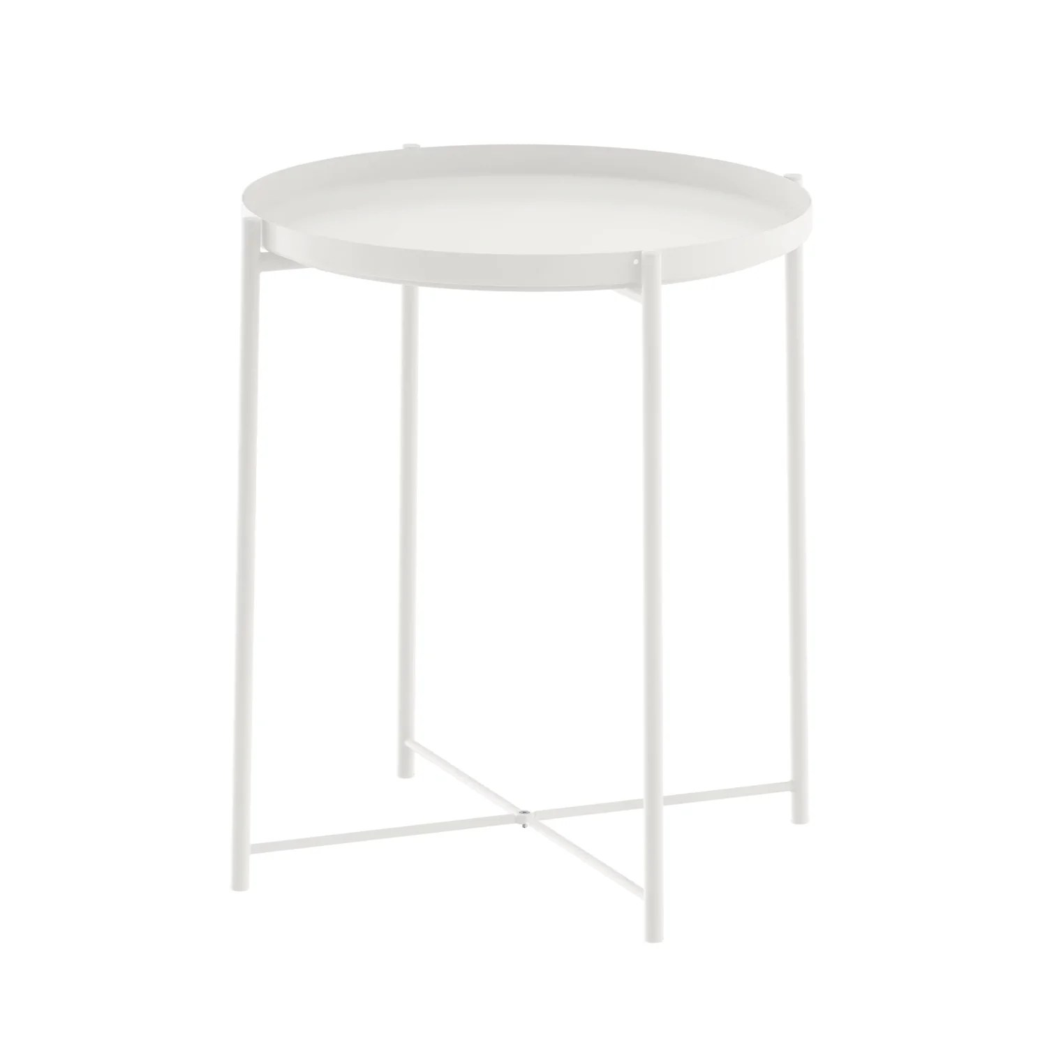 Ikea Front Gladom Tray Table White