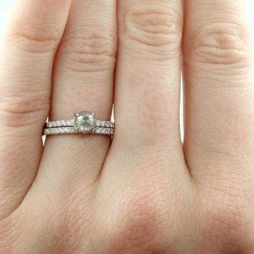 Peaceably G Half Eternity Diamond Wedding Half Roundstyle Point No G Half Eternity Diamond Wedding Half Round Half Carat Diamond Price Half Carat Diamond Ring On Hand
